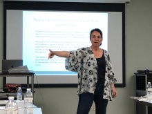 Cheryl, Nicky's Mom, presents all over the country to families and organizations on person-centered planning, philosophy, and on Nicky's journey, to inspire others to reach high and advocate unceasingly.